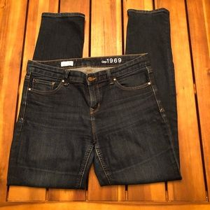GAP Denim Real Straight Jeans- Size 30